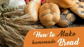 how to make homemade bread design template
