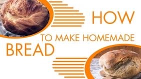 how to make homemade bread design template yo