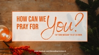 how to pray for you Digital Display (16:9) template
