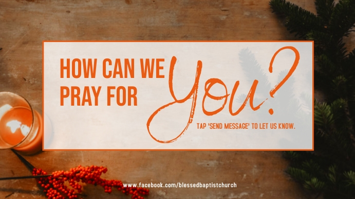 how to pray for you Digitalt display (16:9) template