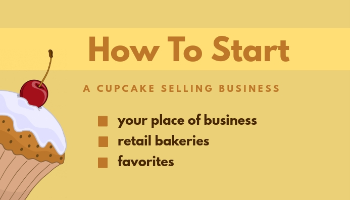 How To Start A Cupcake Koptekst blog template