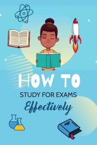 How to Study for Exams Pinterest Pin