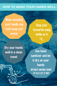 How to wash to your hands