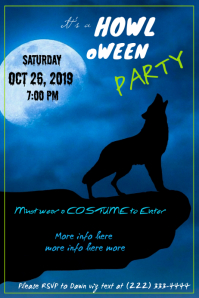 Howloween Party Poster