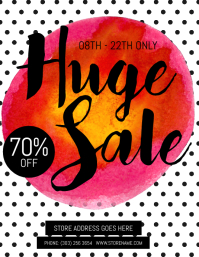 Huge Sale Flyer