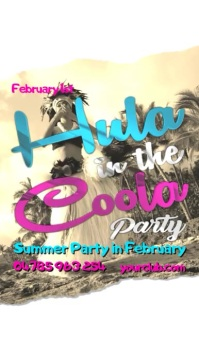 Hula in the Coola party video