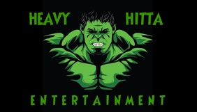 Hulk Business Card