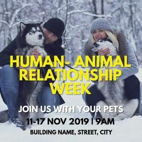 Human animal relationship week