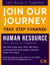 Human Resource Poster Template