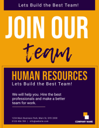 Human Resources FLYER TEMPLATE