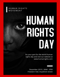 Human Rights Day Flyer