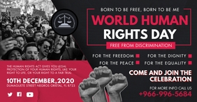 Human Rights Day Rally Facebook Shared Image