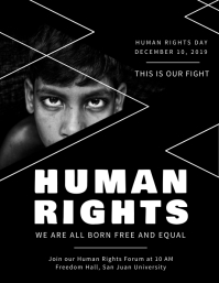 Human Rights Flyer