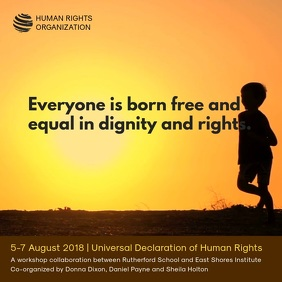 Human Rights Organization Video Ad Template