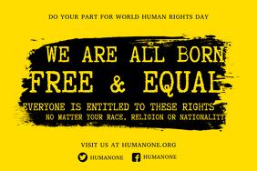 Human Rights Propaganda Poster Template