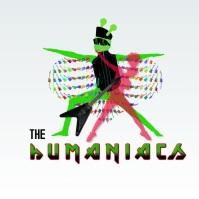 Humaniacs Punk Rock Band Character Video Logótipo template