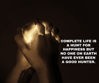 HUNT AND HUNTER QUOTE TEMPLATE Grand rectangle