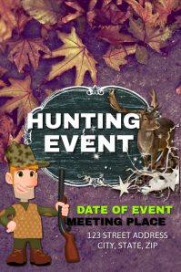 Hunting Event template
