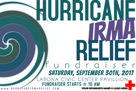 Hurricane Storm Tornado Disaster Red Cross Relief Fundraiser