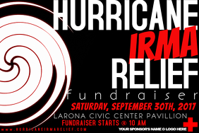 Hurricane Storm Weather Disaster Red Cross Relief Fundraiser