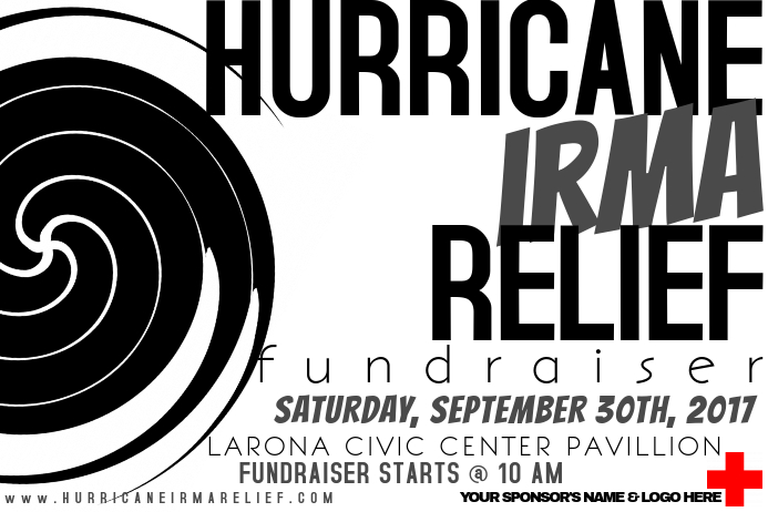 Hurricane Weather Community Disaster Cross Relief Fundraiser