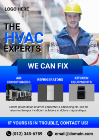 HVAC Flyer Template