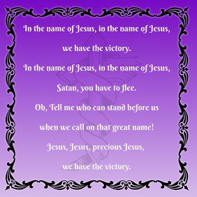 Hymns - In the Name of Jesus