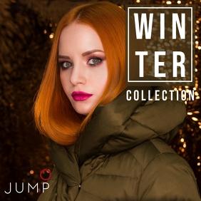 JUMP   Winter Collection โพสต์บน Instagram template