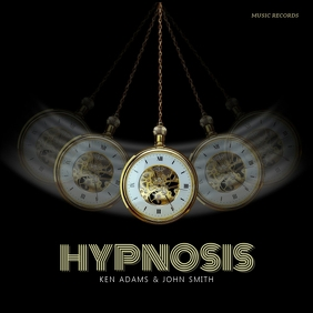 Hypnosis album cover template Обложка альбома