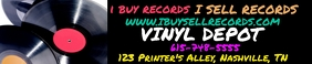 I Buy Records: Soundcloud Banner template