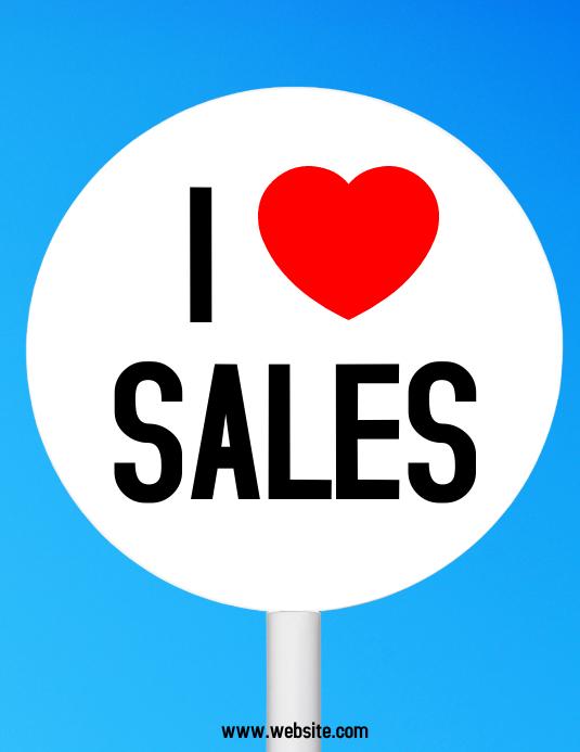I love sales