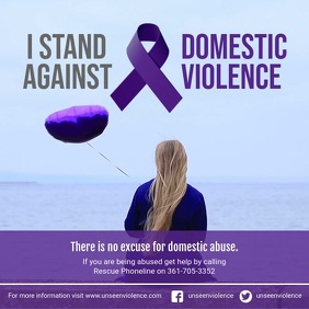 I Stand Against Domestic Violence Video
