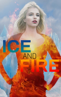 ICE AND FIRE BOOK TEMPLATE ปก Kindle