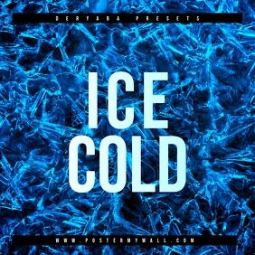 Ice Cold Blue Mixtape CD Cover