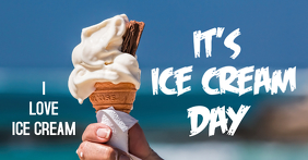 Ice cream day header