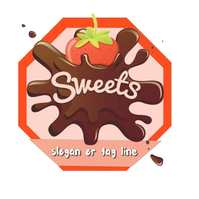 ice cream Логотип template