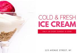 Ice Cream Party Flyer Template Kleo Bergdorfbib Co
