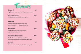 Ice cream Menu 3