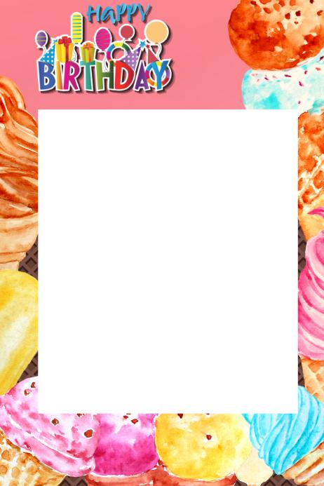 Customizable Design Templates for Ice Cream Social   PosterMyWall