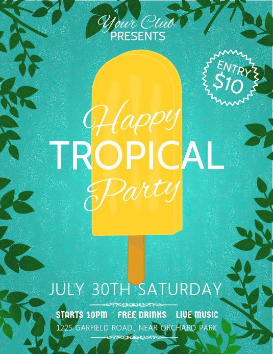 ice cream poster, summer