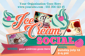 Ice Cream Poster Templates | PosterMyWall