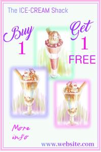 Ice Cream Sale Poster
