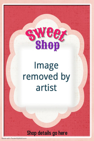 Ice Cream Shop Poster Flyer Pretty Pink Birthday Party