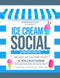 1 050 customizable design templates for ice cream social postermywall