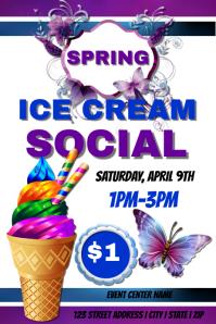 Ice cream Social Template