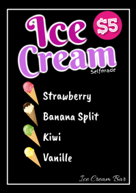 Ice Cream Summer Beach Bar Pool Offer Special