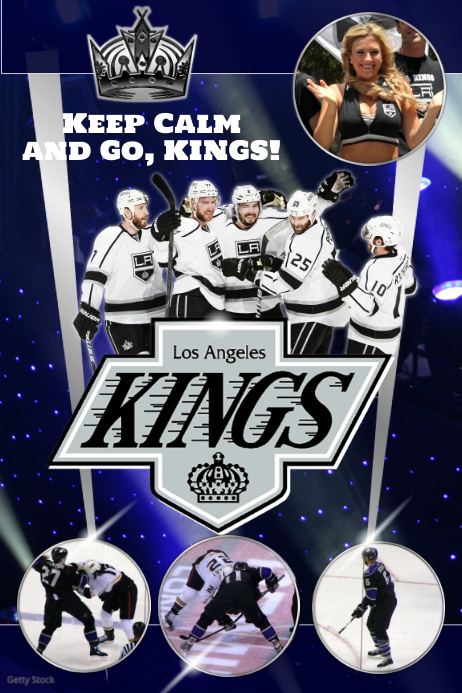ice hockey team poster