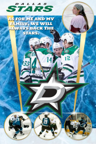 ice hockey team poster