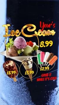 Ice lolly Video menu