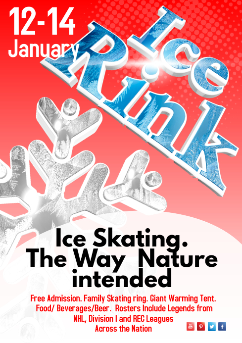 Ice Rink Poster